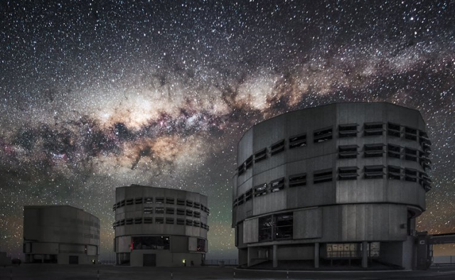 Una imagen del VLT (Very Large Telescope) de ESO (European Organisation for Astronomical Research in the Southern Hemisphere) en Paranal, Chile (ESO)