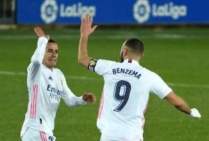 El Real Madrid despeja la crisis goleando al Alavés