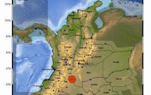 Reportaron sismo de magnitud 5.1 en Huila, Colombia