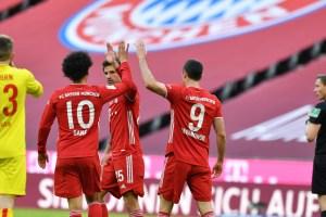 El Bayern Múnich se reencontró con la victoria y aplastó 5-1 al Colonia