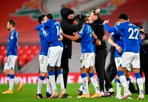 Everton acabó con racha negativa de 22 años en Anfield tras vencer al Liverpool