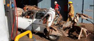 Larenses desafían al peligro al adaptar sistema de gas ilegal en sus carros