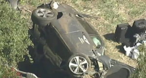 Así quedó el carro de Tiger Woods luego del terrible accidente (FOTOS)