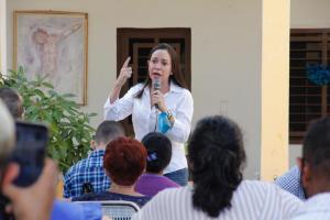 María Corina desde Guárico: Si creyera que la Libertad se consigue afuera, hace tiempo me hubiese ido