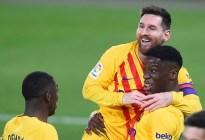 Sin brillo, Barcelona cumplió frente a Osasuna antes del derbi de Madrid