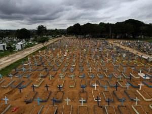 Brasil supera los 260.000 decesos por coronavirus