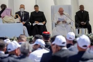 """El papa Francisco rezó por la """"paz"""" y la """"unidad"""" en Oriente Medio, """"en particular en Siria"""""""