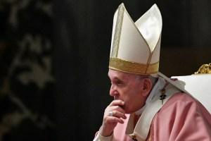 El papa Francisco pide una vacunación solidaria donde no prevalezca la ley del mercado