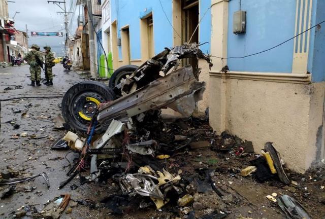 Misión de ONU en Colombia condenó ataque con carro bomba que dejó 16 heridos en Corinto