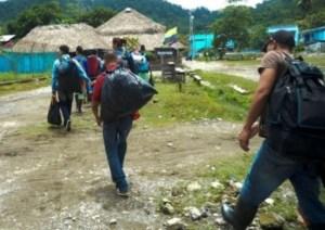 Contabilizan más de seis mil venezolanos desplazados producto del conflicto en Apure