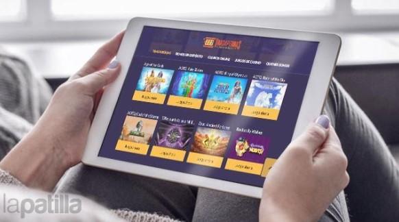 Mobile online casino games