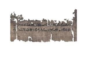 Un papiro egipcio antiguo revela horribles detalles de momificación