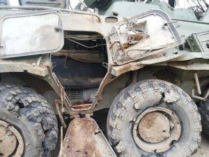 Así quedó el vehículo militar tras ataque de la guerrilla en El Ripial (Fotos)