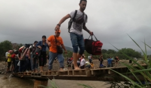 """Era """"trochero"""" el hombre que se ahogó durante una crecida del río Táchira"""
