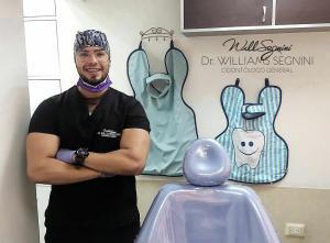 La salud es primero: El odontólogo Williams Segnini continúa con sus labores en tiempos de pandemia