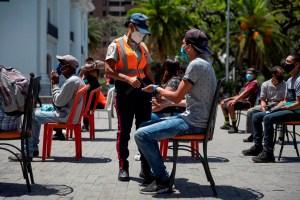 Venezuela sumó más de 900 nuevos contagios tras casi 500 días de pandemia