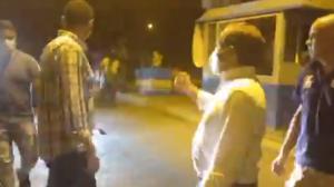 """""""¡Llegamos a Barcelona!"""": Diputados legítimos vencieron acoso de esbirros uniformados (Video)"""