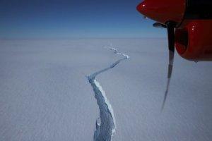 Un iceberg más grande que la ciudad de Nueva York se desprendió en la Antártida