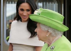 Meghan Markle: Cuando conocí a la Reina no sabía que tenía que hacer una reverencia