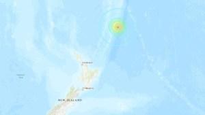 Centro de Alerta de Tsunami de EEUU pronosticó olas de tres metros tras sismos en Nueva Zelanda
