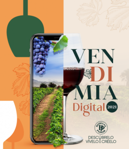 Bodegas Pomar celebra en formato digital su primera vendimia 2021 (Video)