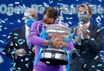 Rafa Nadal gana el Laureus 2021 al mejor deportista masculino