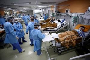 Brasil registró más de dos mil nuevas muertes por Covid-19