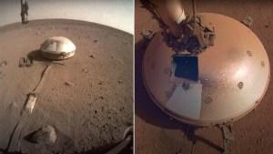 La sonda InSight de la Nasa detecta dos fuertes terremotos en Marte (VIDEO)