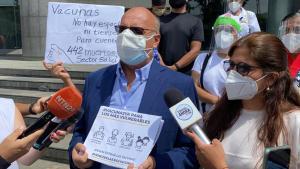 Diputados Dávila y Hernández exigieron a la ONU cooperación internacional para traer vacunas al país