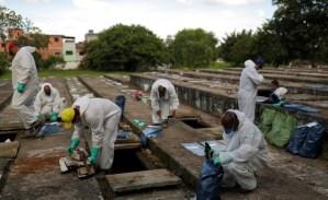 Pandemia sin control: Brasil rebasó las 380 mil muertes por Covid-19