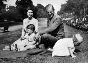 La numerosa familia que Felipe de Edimburgo formó con la reina Isabel II