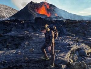 Julián Ruiz Sandoval, el venezolano que captó con un dron la erupción de un volcán en Islandia (Videos)