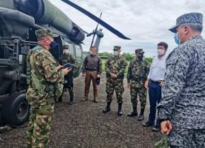 """Diego Molano visita Arauquita para """"revisar"""" situación humanitaria ante conflicto en Apure"""