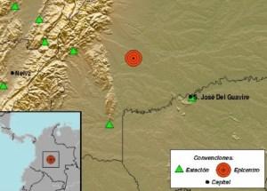 Sismo de magnitud 3.2 sacudió Colombia este #10Abr