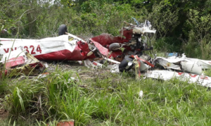 Al menos un muerto tras la caída de una avioneta en Bolívar