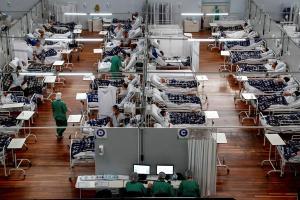 Brasil registró poco menos de diez mil casos de Covid-19 en el último día