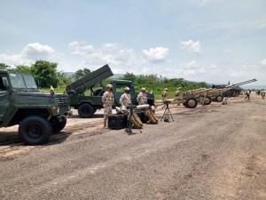 Colombia realizó un ejercicio militar en región fronteriza con Venezuela