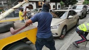 Empresa que cobra remolques en Chacao no aparece en el Registro Nacional de Contratista