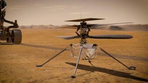 Nasa intentará el lunes primer vuelo de su helicóptero Ingenuity en Marte
