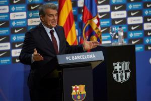 Joan Laporta, presidente del Barcelona también felicitó a Yulimar Rojas tras conseguir el oro olímpico