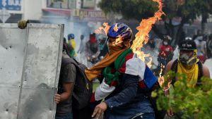 El Comité de Paro en Colombia anunció suspensión temporal de movilizaciones