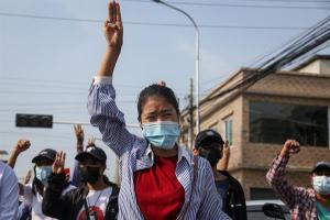 La represión militar ha dejado más de 800 muertos desde el golpe en Birmania