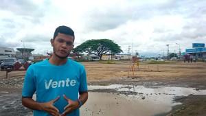 Emanuel Figueroa denunció la paralización de la Redoma Cacique Coromoto en Guanare