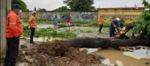 Al menos tres municipios de Lara resultaron afectados por los aguaceros: Reportan inundación de viviendas