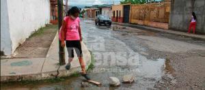 Más de 300 familias sin agua en Lara por la rotura de un tubo matriz
