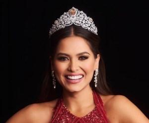 Andrea Meza dejará de ser Miss Universo en menos de un año