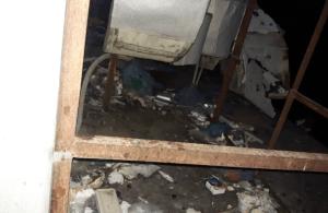 El Hospital Universitario de Maracaibo en completo abandono: Basura y roedores atormentan a los pacientes (IMÁGENES)
