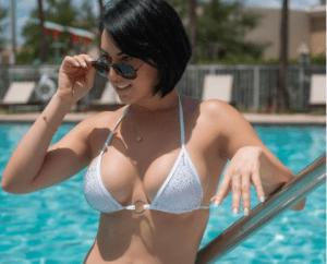 El sexy foto en bikini blanco de la cubana más sexy de Instagram (FOTO)