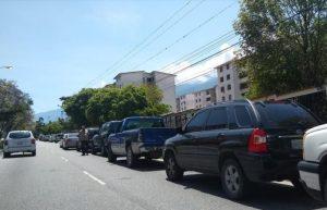 En Los Andes venezolanos se acabó el combustible subsidiado