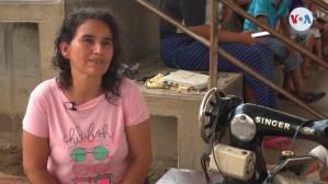 Con maquinas de coser, dos migrantes venezolanas emprenden sus sueños (Video)